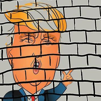Donald Trump EL MURO poster