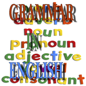 Grammar in English icon