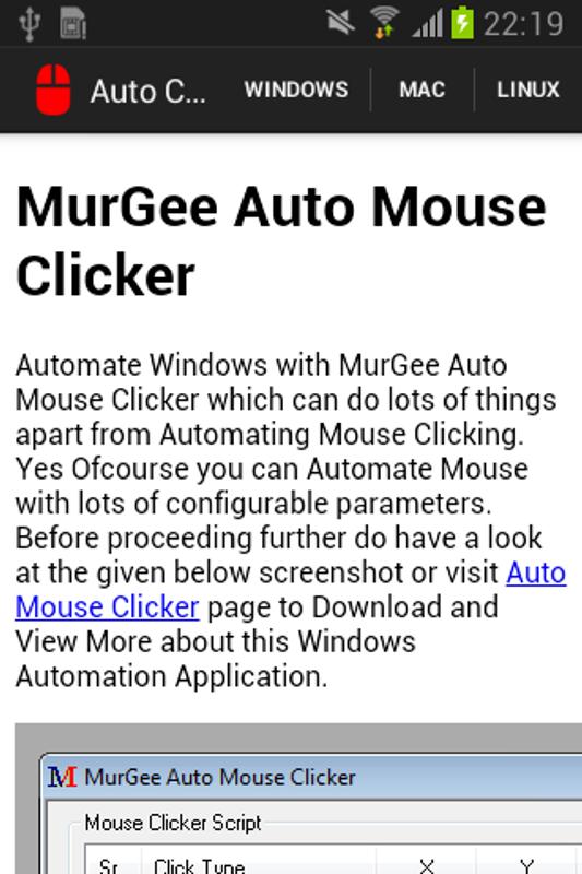 Scriptable Macintosh Auto Clic Autoclicker Download