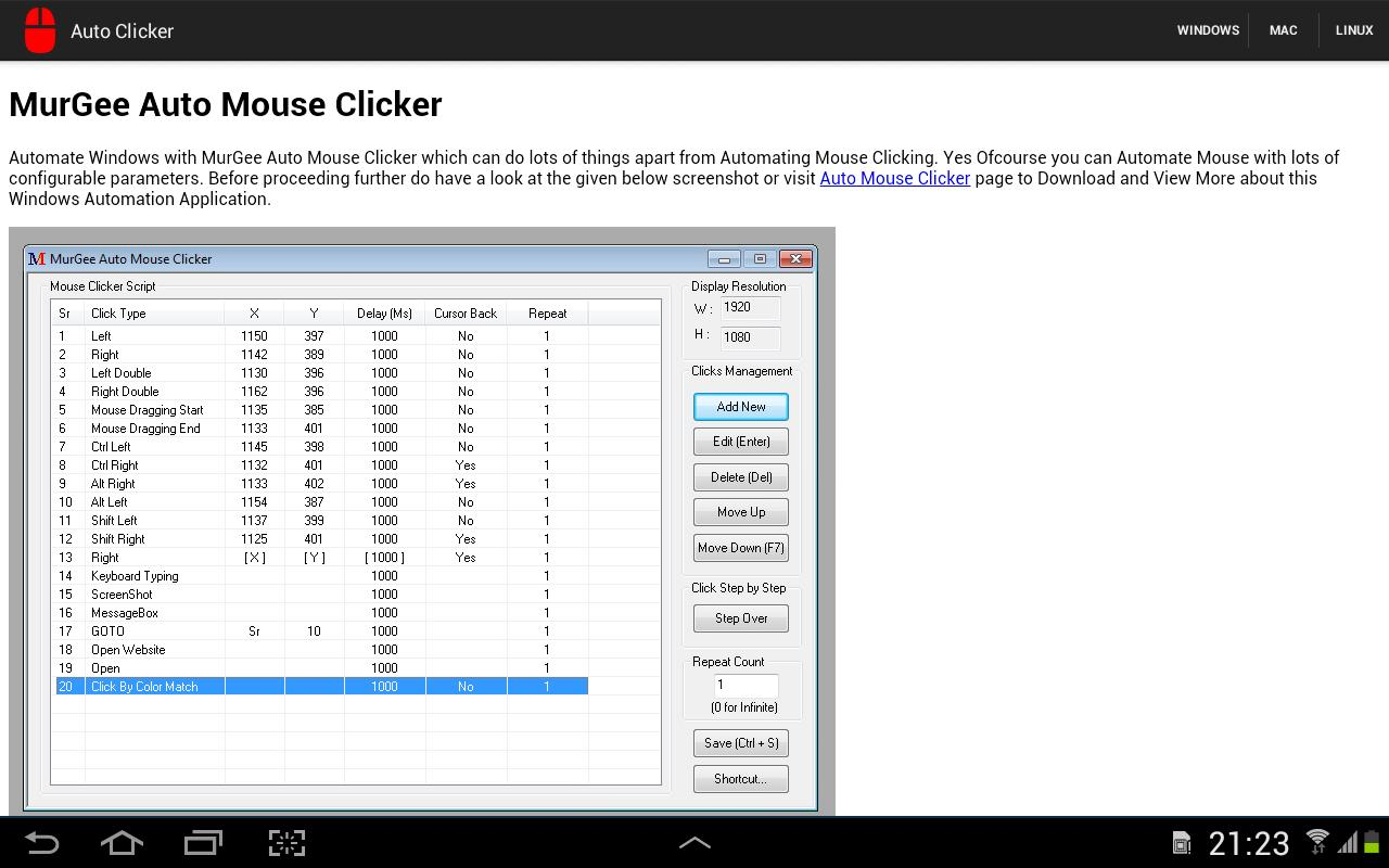 Auto Clicker for Android - APK Download