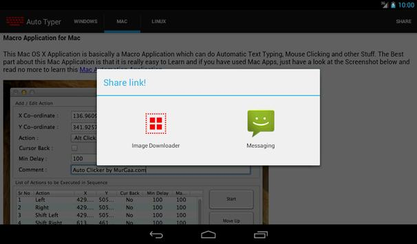 Auto Typer apk screenshot