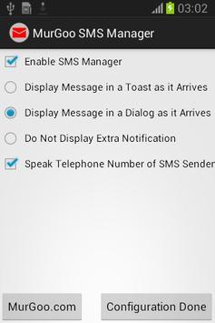 Auto SMS Voice Alert poster