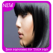 Best Hairstyles for Thick Hair icon