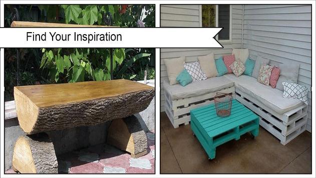 Creative DIY Garden Furniture apk screenshot
