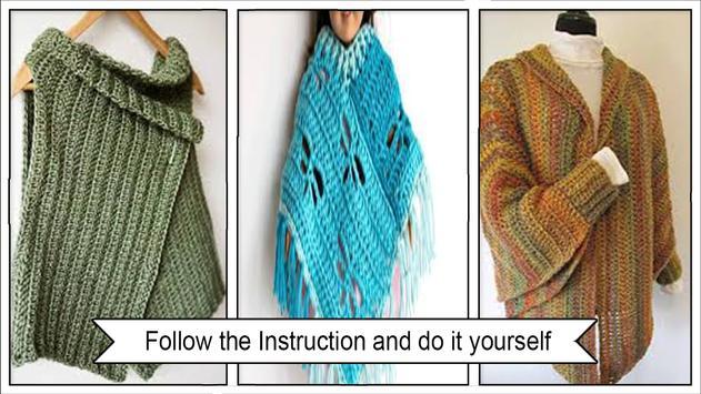 Easy Crochet Sleeve Patterns screenshot 1