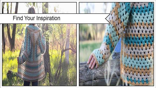 Easy Crochet Sleeve Patterns screenshot 4