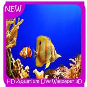 HD Aquarium  Wallpaper 3D icon