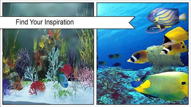HD Aquarium  Wallpaper 3D screenshot 3