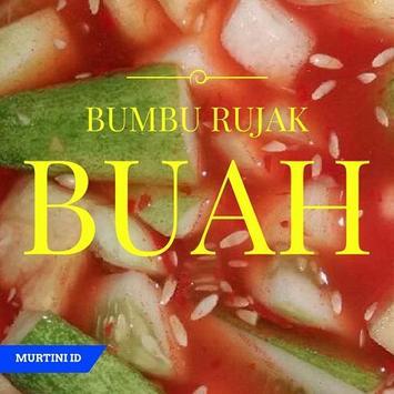Resep Bumbu Rujak Buah Segar poster