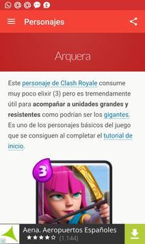 Guía para Clash Royale poster