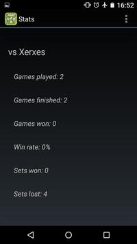 Playing card tennis (ktenni) screenshot 4