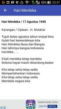 Lirik Lagu Wajib Nasional screenshot 2