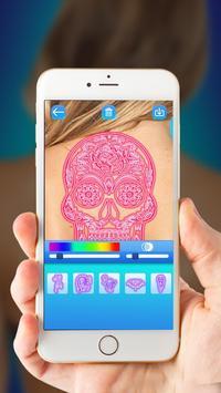Neon Tattoo Simulator 2018 poster