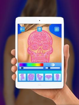 Neon Tattoo Simulator 2018 screenshot 5