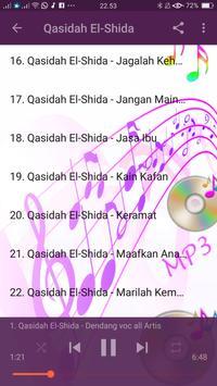 Lagu Qasidah El-Sida apk screenshot