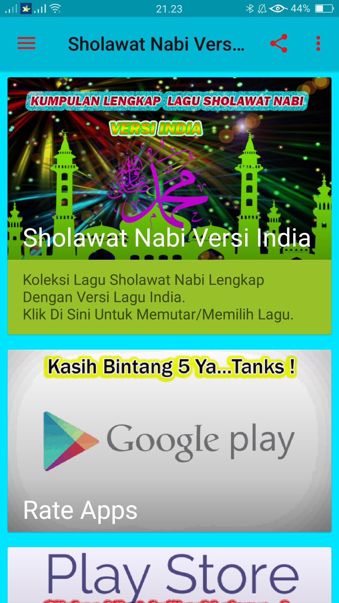 Sholawat Nabi Versi India Mp3 For Android Apk Download