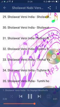 Sholawat Nabi Versi India Mp3 apk screenshot