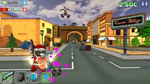 Cat Survivor Hero apk screenshot