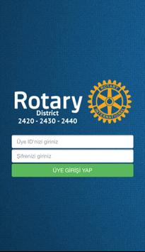 Rotary District 2420-2430-2440 poster