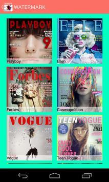 Magazine Cover screenshot 1