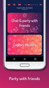 MUZI - Social Music screenshot 1