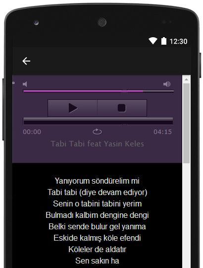 Android Icin Seda Sayan Sarki Sozleri Apk Yi Indir