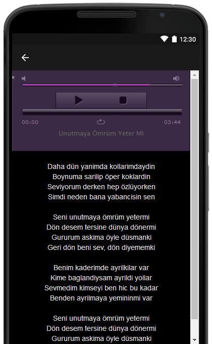 Umit Besen Sarki Sozleri Pour Android Telechargez L Apk