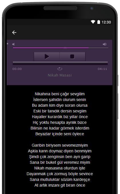 Android Icin Umit Besen Sarki Sozleri Apk Yi Indir