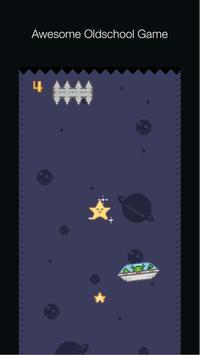 Falling Pixel Star poster