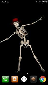 Dancing Skeleton poster