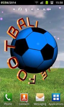 I Love Football 3D poster