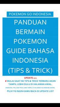 Tips & Trik Pokemon Go poster