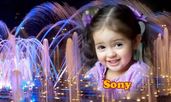 Water Fountain Frame Photo apk screenshot