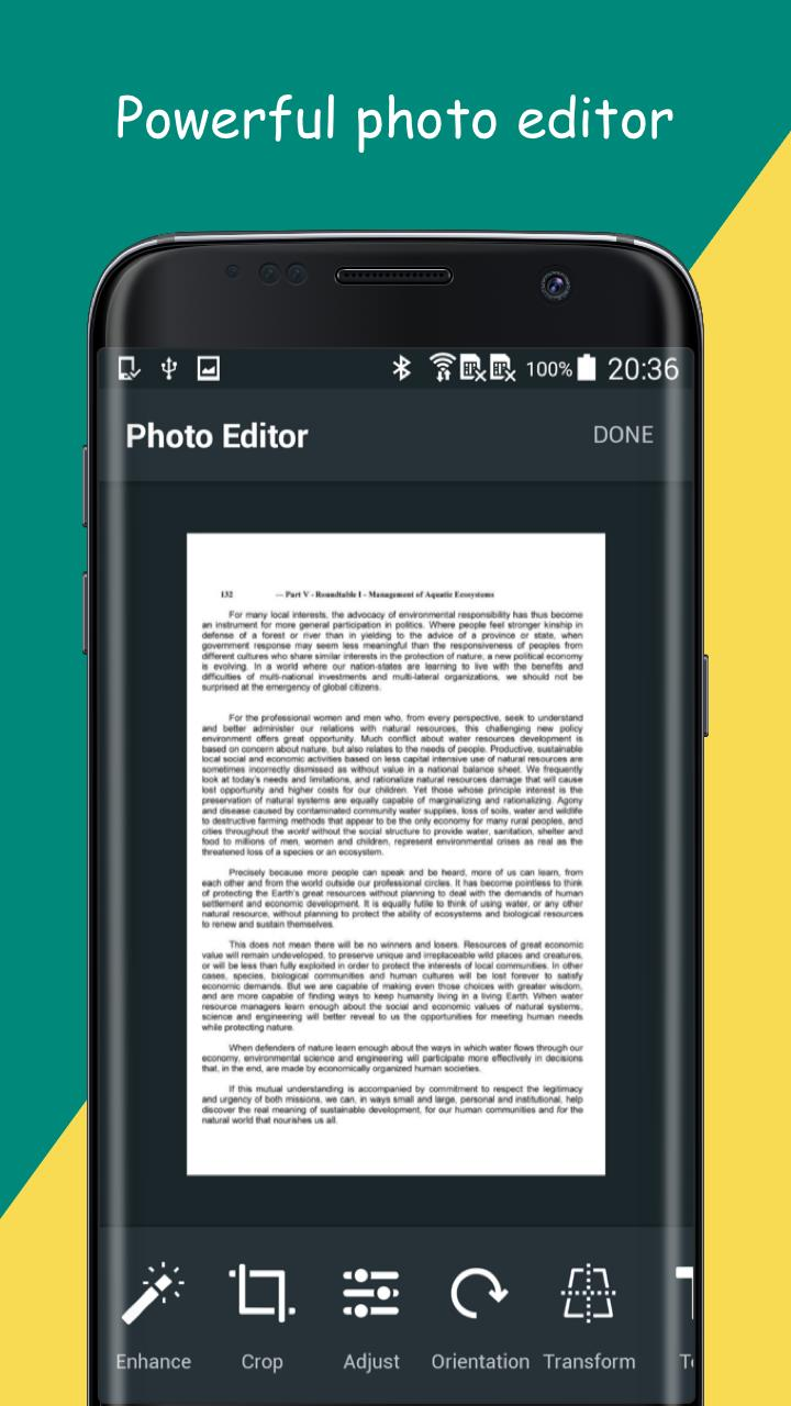 Camera Scanner: PDF creator Pro v1.23 [Paid] 3