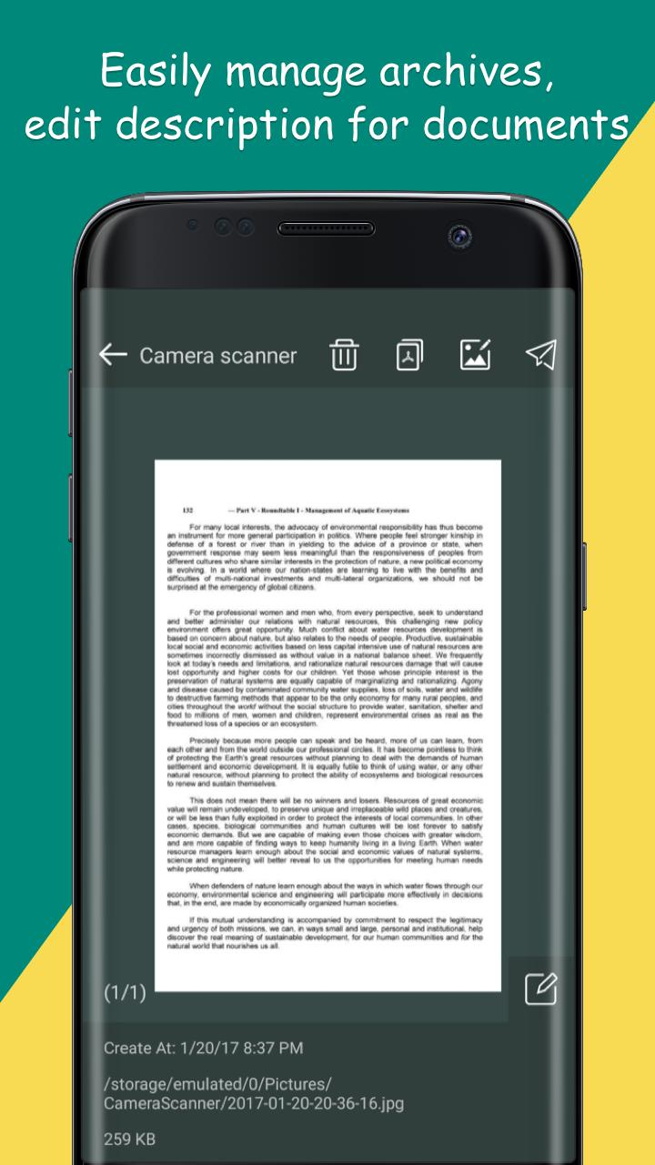 Camera Scanner: PDF creator Pro v1.23 [Paid] 5