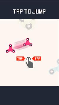 Flappy Spinner - When Fidget Toy & Game Combined screenshot 1
