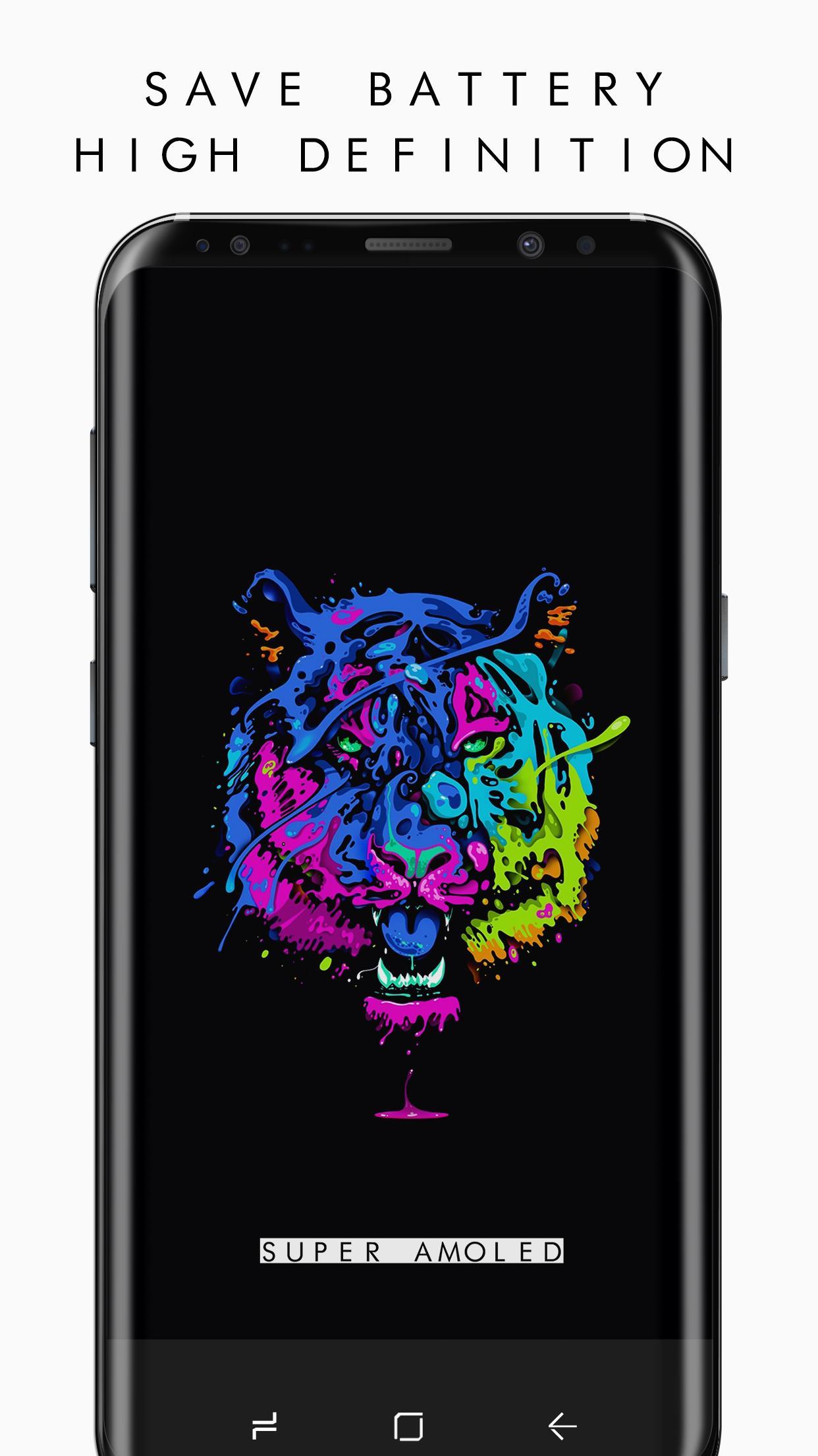 Pixel 3 Super AMOLED Wallpapers PRO (2960×1440) v2 [Paid] APK [Latest] 1