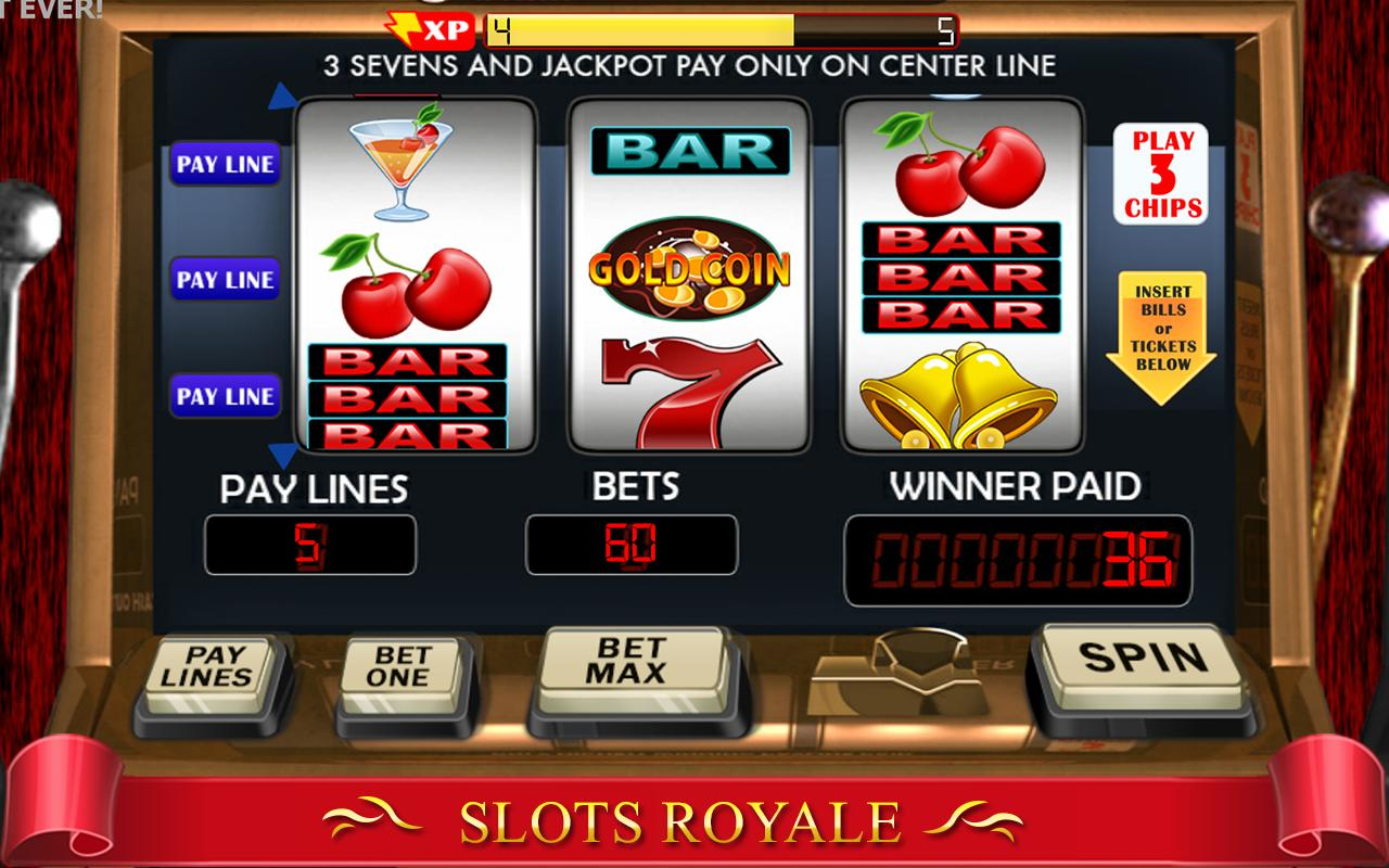 Play Slots Machine Online