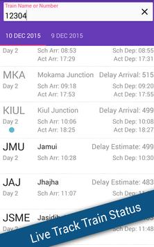 PNR Status - Live Train Status apk screenshot