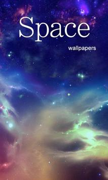 Space Galaxy Wallpaper poster
