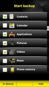 MYMobile Backup screenshot 1