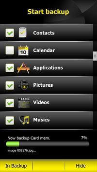 MYMobile Backup screenshot 2