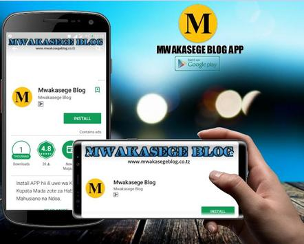 Mwakasege Blog apk screenshot