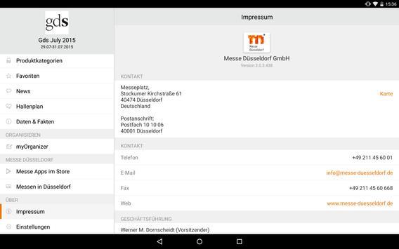 GDS App apk screenshot