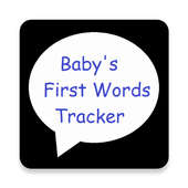 Baby's First Words Tracker icon