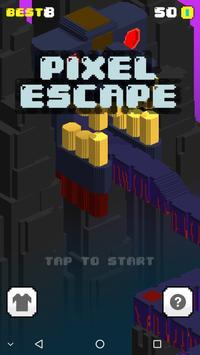 Pixel Escape poster