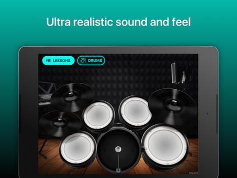 Drums - リアルなドラムセット・ゲーム スクリーンショット 9
