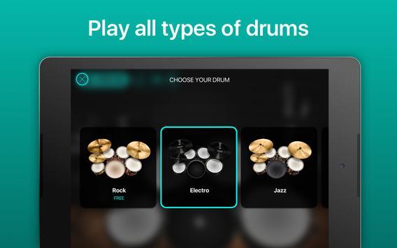 Drums - リアルなドラムセット・ゲーム スクリーンショット 13