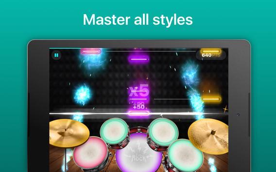 Drums - リアルなドラムセット・ゲーム スクリーンショット 12