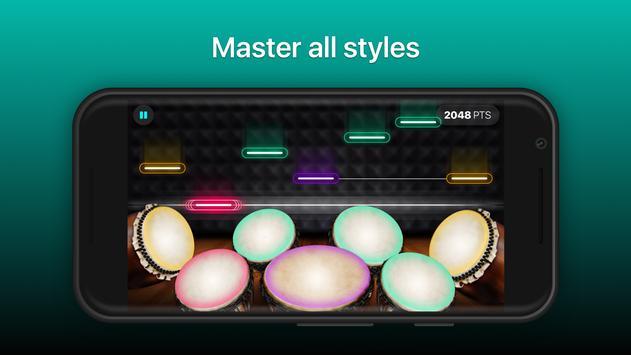 Drums - リアルなドラムセット・ゲーム スクリーンショット 2